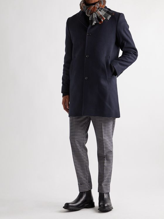 CLUB MONACO Loukas Wool-Blend Overcoat