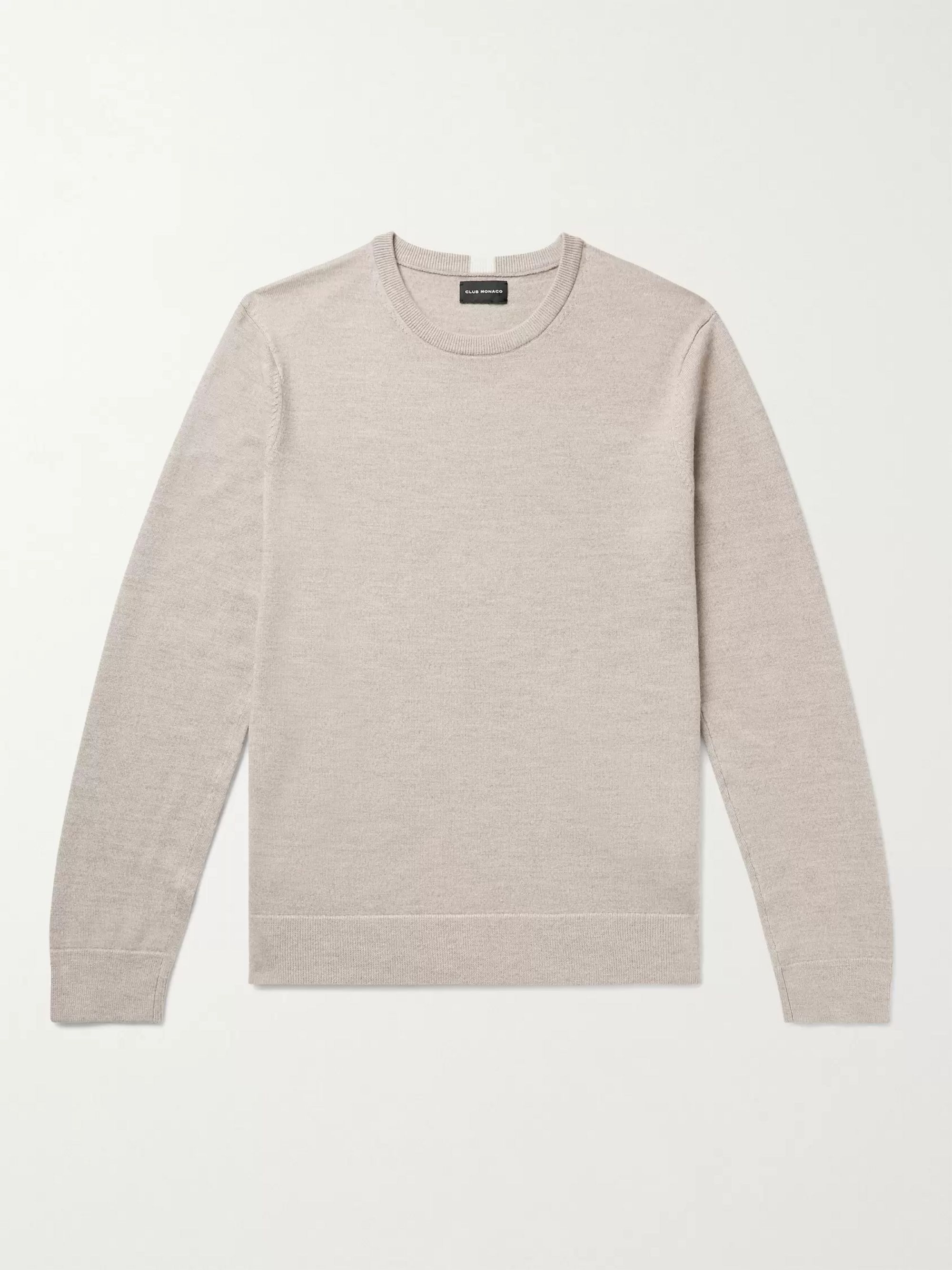 CLUB MONACO Melange Wool Sweater