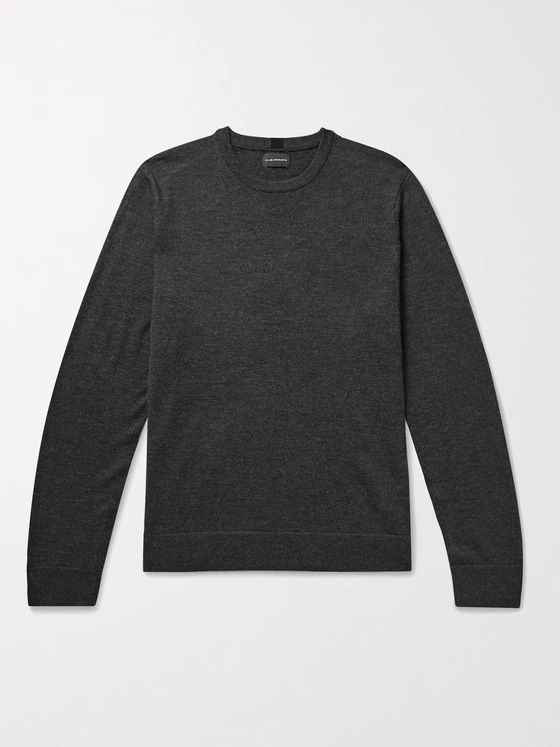 CLUB MONACO Mélange Wool Sweater