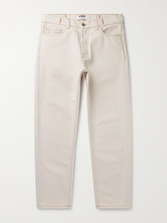 YMC Garment-Dyed Denim Jeans
