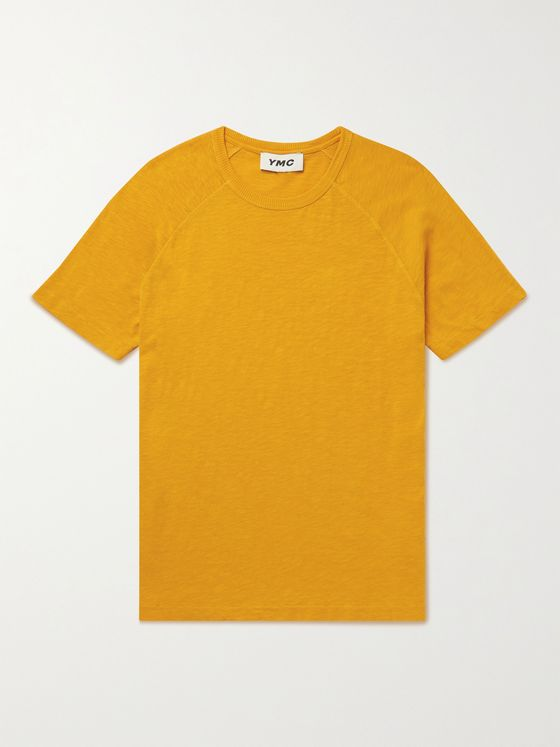 YMC Television Pigment-Dyed Organic Cotton-Jersey T-Shirt