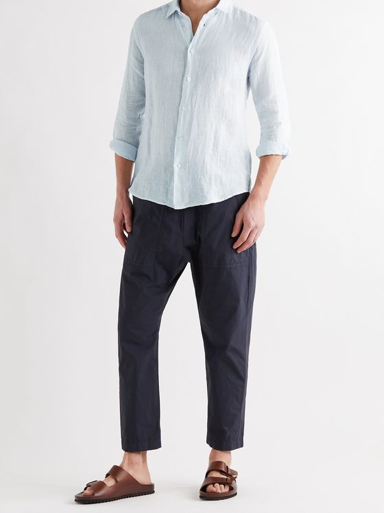Barena Slim-Fit Linen Shirt