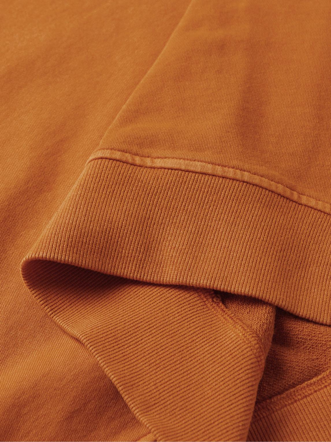 YMC YOU MUST CREATE Cottons SUGDEN LOOPBACK COTTON-JERSEY HALF-ZIP SWEATSHIRT