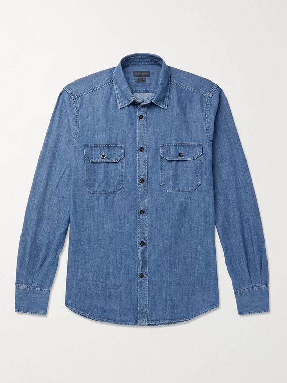 INCOTEX Denim Shirt