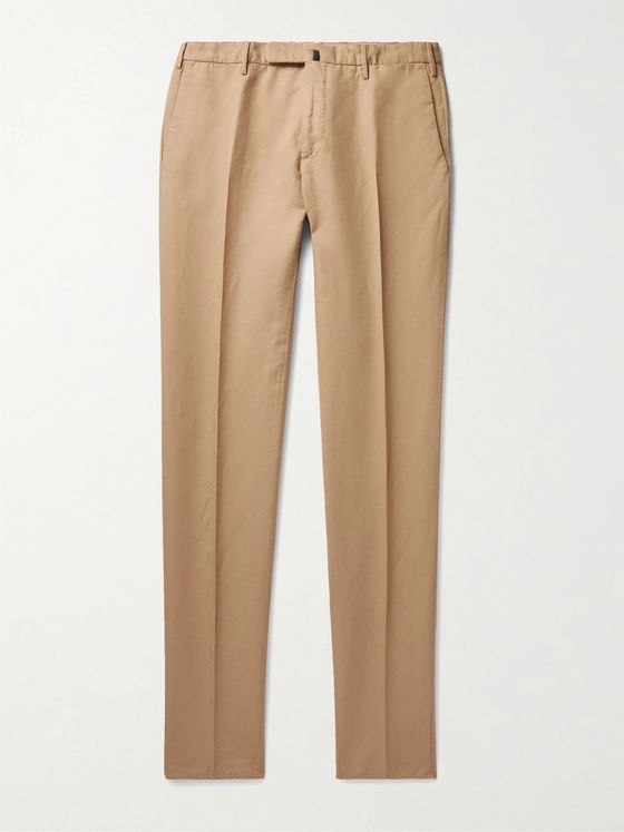 INCOTEX Slim-Fit Chinolino Trousers