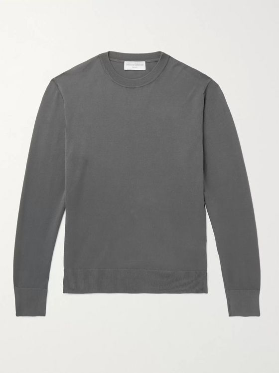 OFFICINE GÉNÉRALE Neils Cotton Sweater