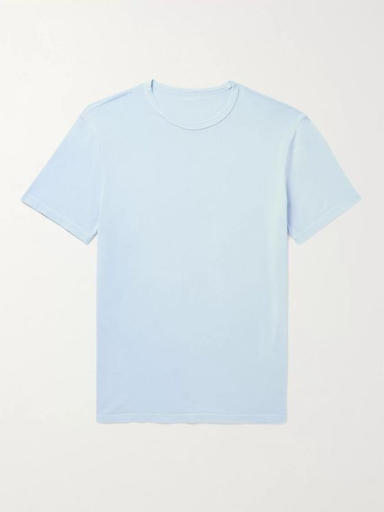OFFICINE GÉNÉRALE Slim-Fit Pigment-Dyed Cotton-Jersey T-Shirt