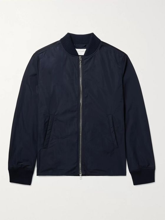 OFFICINE GÉNÉRALE Ben Slim-Fit Shell Bomber Jacket
