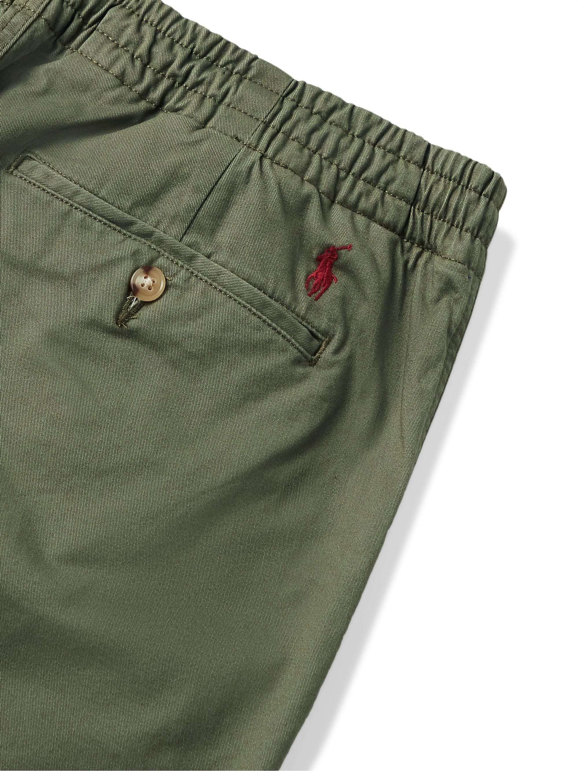 POLO RALPH LAUREN Prepster Cotton-Blend Twill Trousers