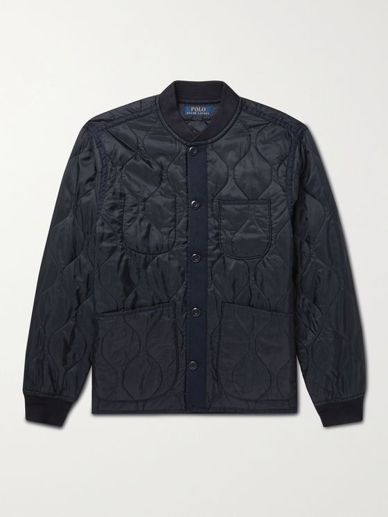 POLO RALPH LAUREN Quilted Nylon-Ripstop Jacket