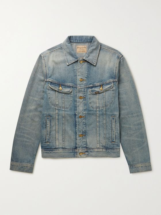 POLO RALPH LAUREN Storm Rider Denim Jacket