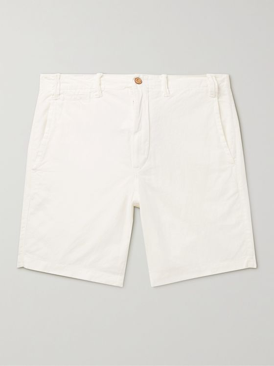 POLO RALPH LAUREN Linen and Cotton-Blend Shorts