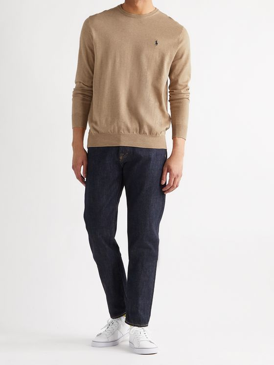 POLO RALPH LAUREN Slim-Fit Cotton Sweater