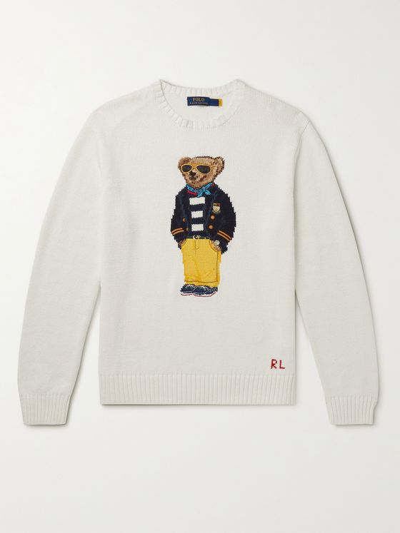 POLO RALPH LAUREN Intarsia Cotton Sweater