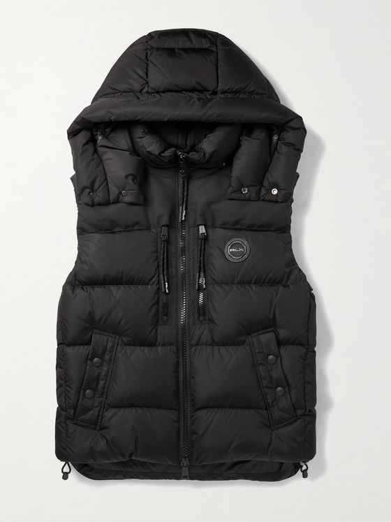 POLO RALPH LAUREN RLX Garson Slim-Fit Hooded Quilted ECONYL Gilet