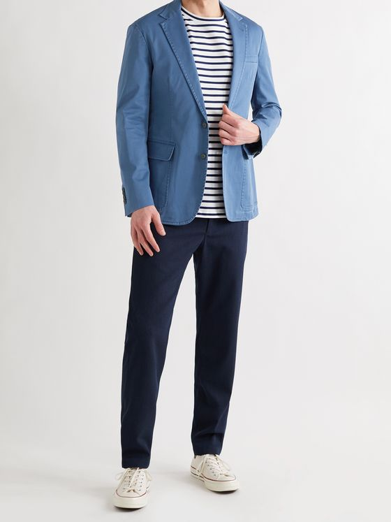 POLO RALPH LAUREN Stretch-Cotton Twill Blazer