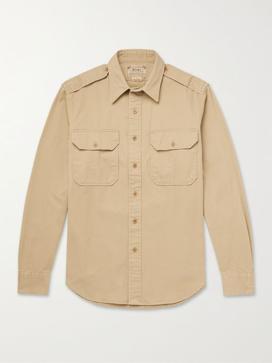 POLO RALPH LAUREN Cotton-Twill Shirt