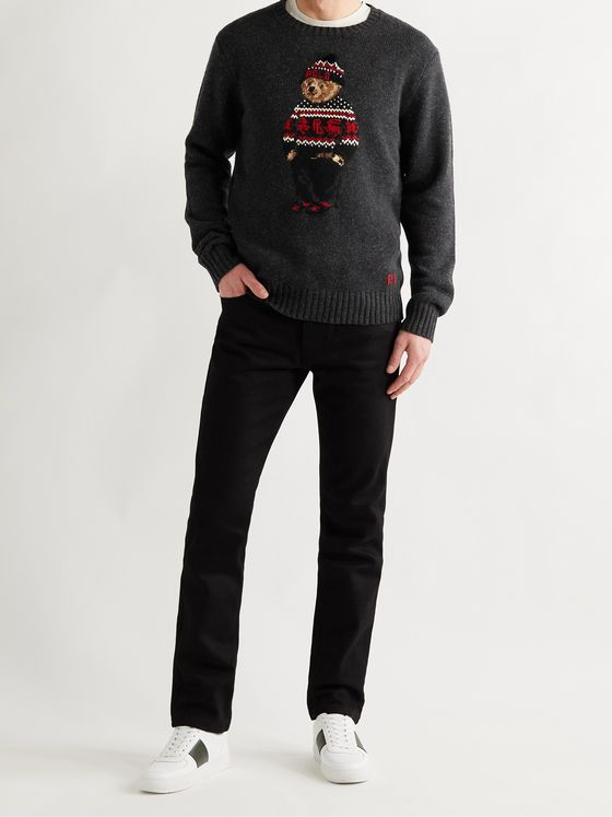 POLO RALPH LAUREN Intarsia Wool Sweater