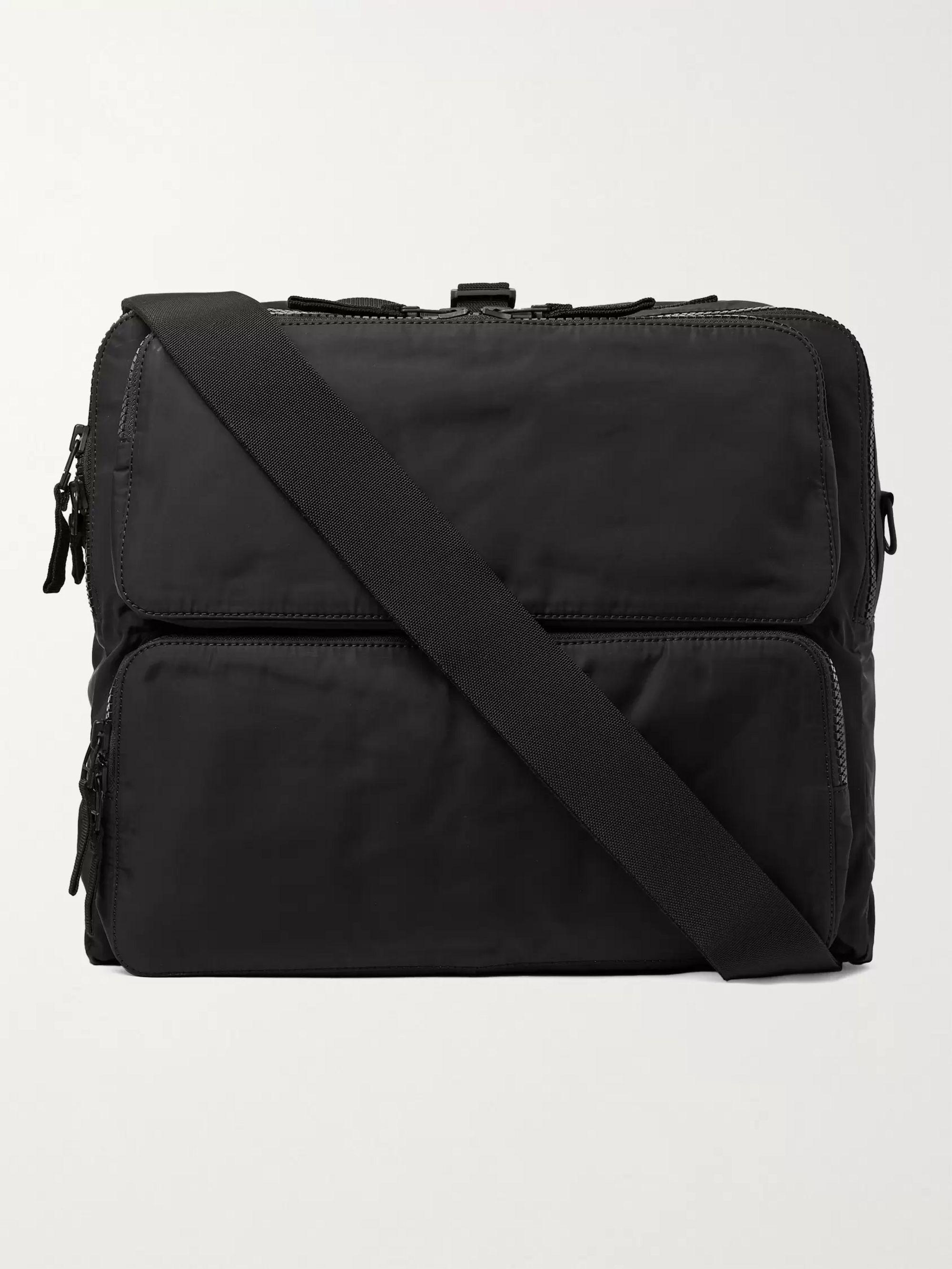 JAMES PERSE Nylon Messenger Bag,Black