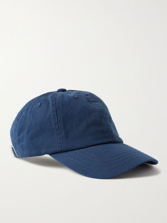 NN07 Logo-Embroidered Cotton-Twill Baseball Cap