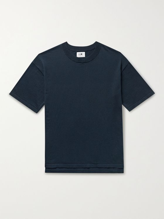 NN07 Jack Cotton and Cashmere-Blend T-Shirt