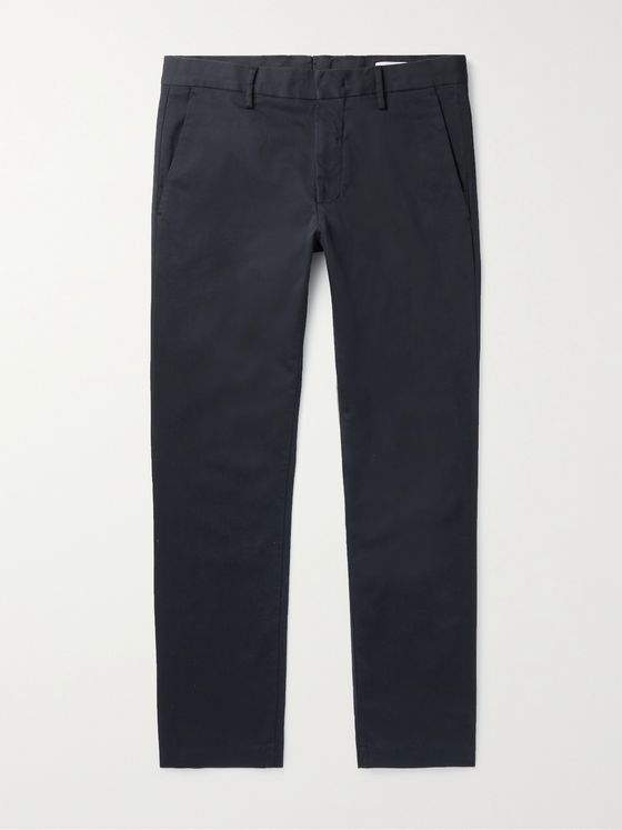 NN07 Theo Stretch Organic Cotton-Twill Chinos