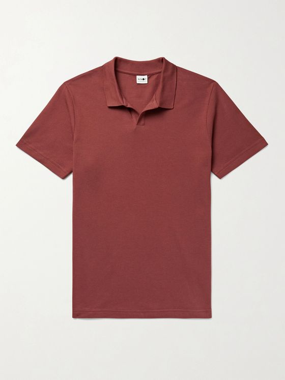 NN07 Paul Cotton and Modal-Blend Piqué Polo Shirt