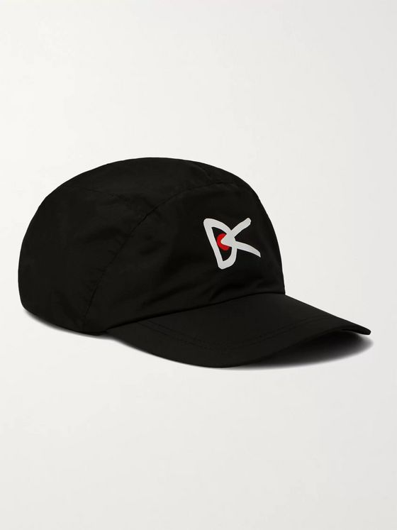 DISTRICT VISION Jeggi Logo-Print Ripstop Running Cap