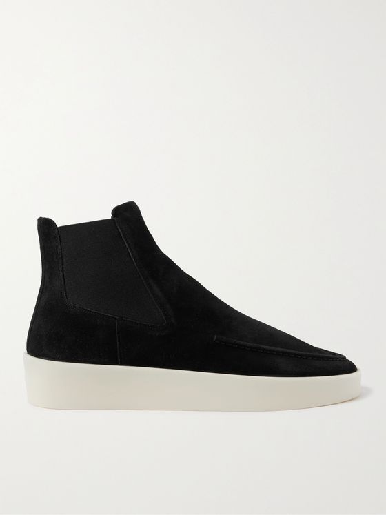 FEAR OF GOD Suede Chelsea Boots