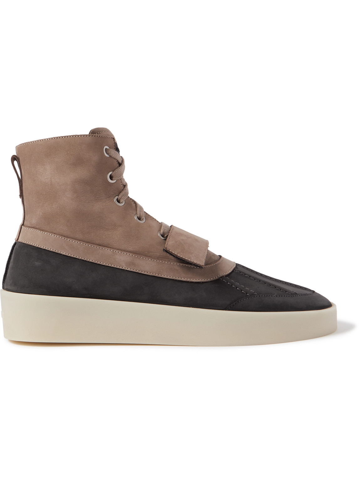 Fear Of God Boots PANELLED NUBUCK DUCK BOOTS