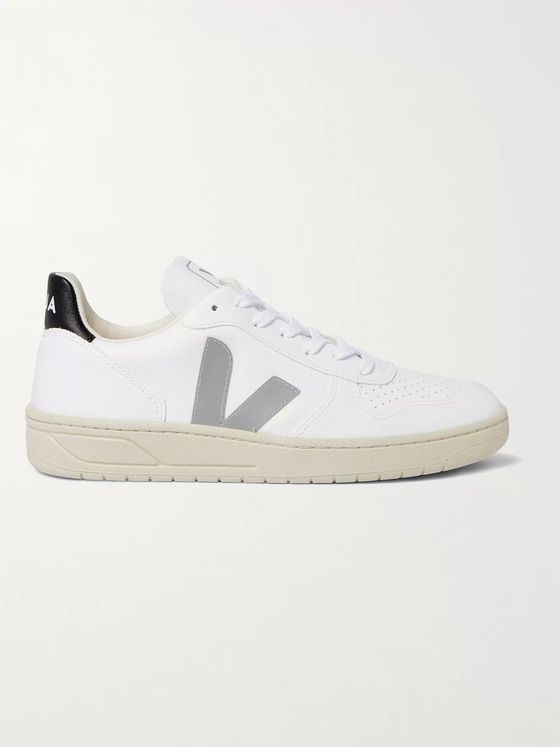 VEJA V-10 CWL Faux Leather Sneakers