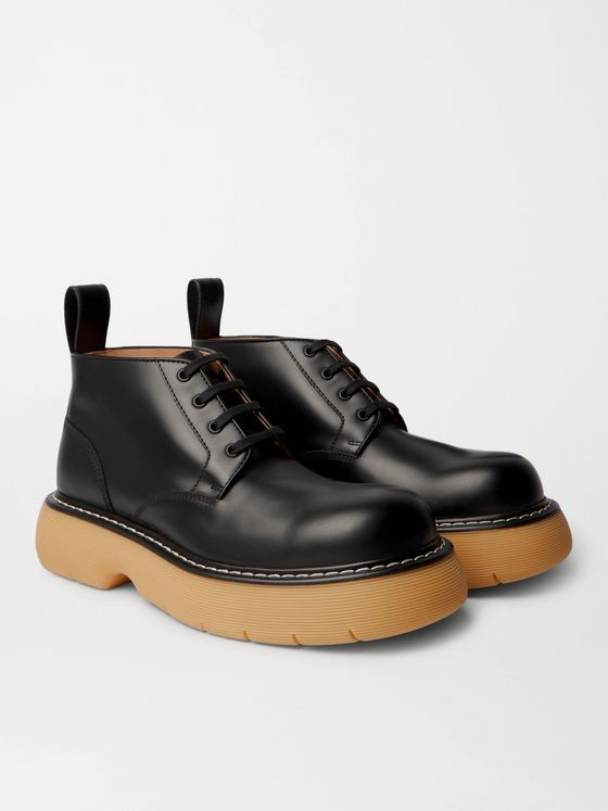 BOTTEGA VENETA The Bounce Leather Boots