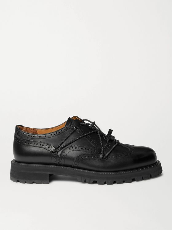 Hender Scheme Code Tip Leather Brogues