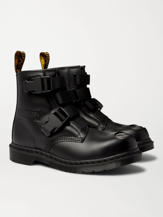 DR. MARTENS + WTAPS 1460 Leather Boots
