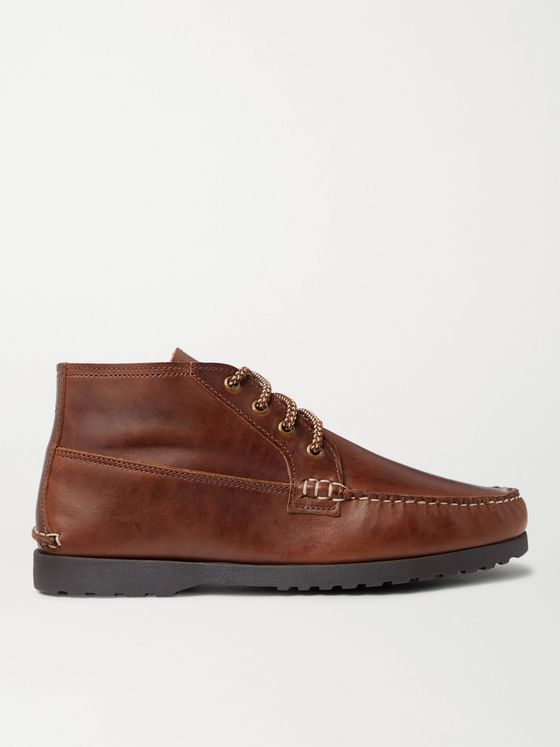 QUODDY Telos Leather Chukka Boots