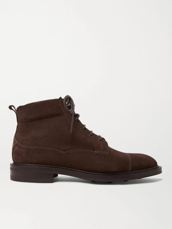 Edward Green Connemara Suede Boots
