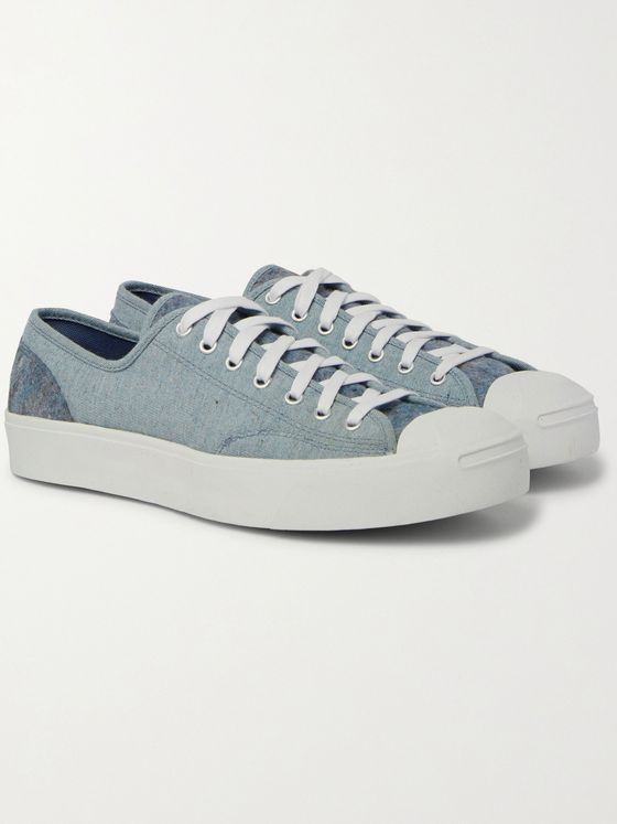 CONVERSE Jack Purcell Ox Canvas and Felt Sneakers
