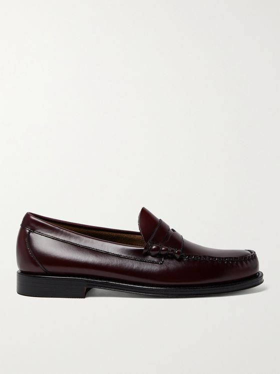 G.H. Bass & Co. Weejun Heritage Larson Moc Leather Loafers