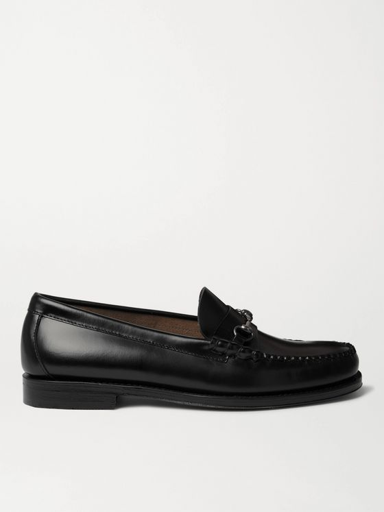 G.H. Bass & Co. Weejuns Heritage Lincoln Horsebit Leather Loafers