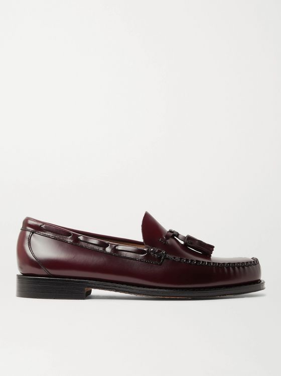 G.H. Bass & Co. Weejuns Heritage Larkin Leather Tasselled Loafers