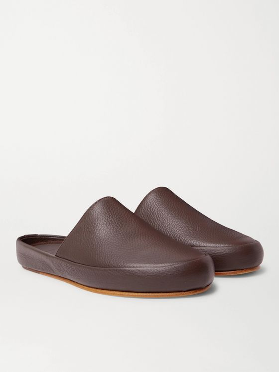 MULO Full-Grain Leather Slippers