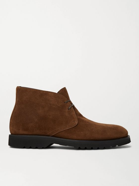 TOM FORD Kensington Suede Desert Boots