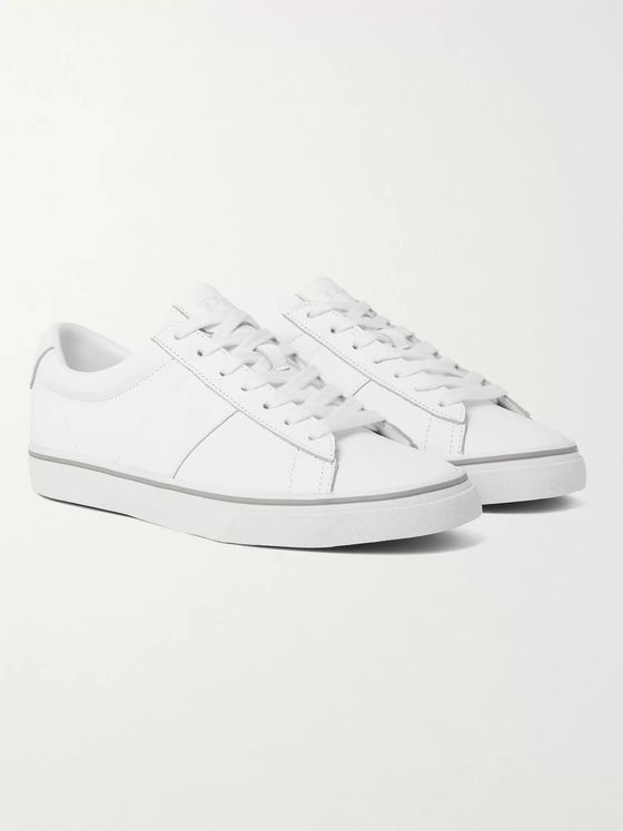 POLO RALPH LAUREN Sayer Leather Sneakers