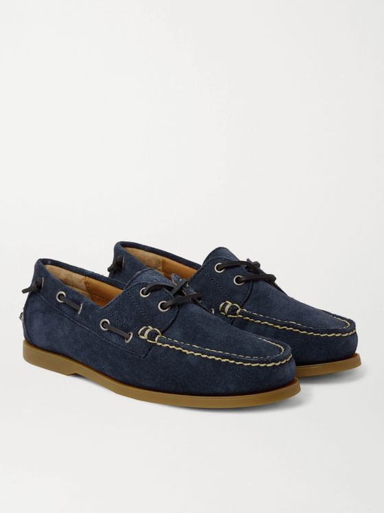 POLO RALPH LAUREN Merton Suede Boat Shoes