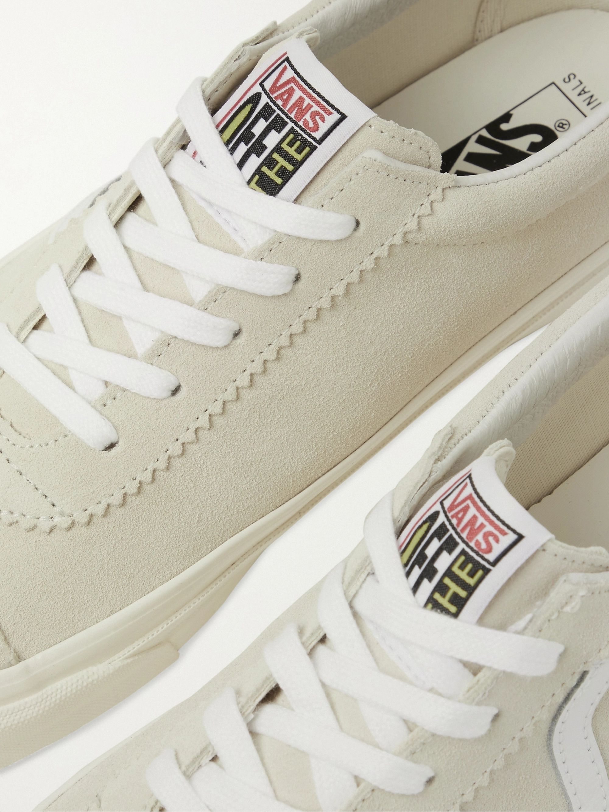 Vans UA OG Epoch LX Leather-Trimmed Suede Sneakers