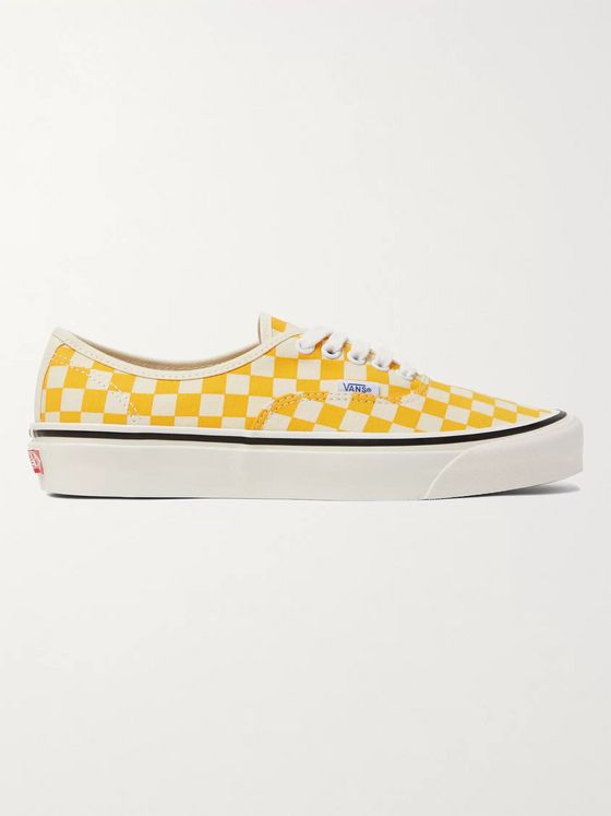 Vans Anaheim Factory Authentic 44 DX Checkerboard Canvas Sneakers
