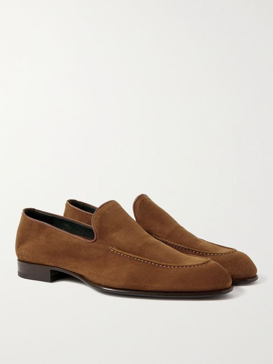 BRIONI Suede Loafers