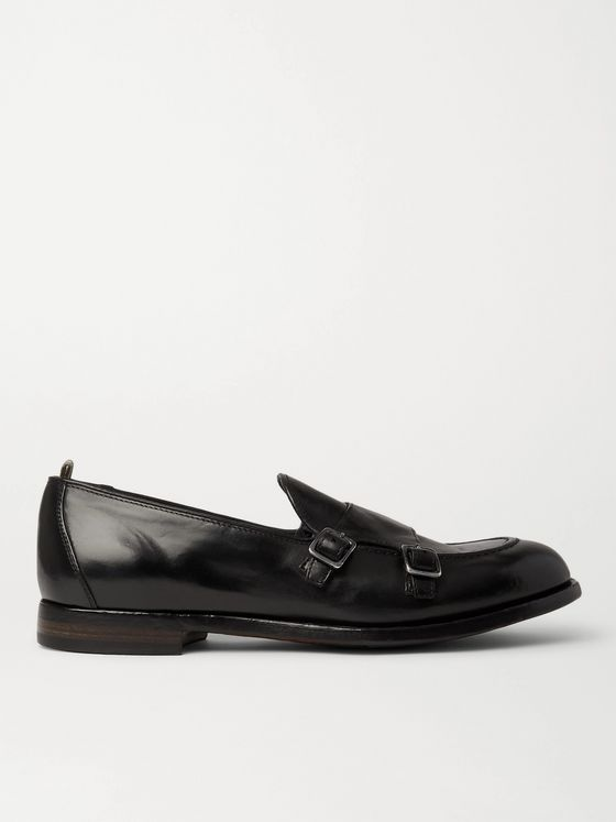OFFICINE CREATIVE Ivy Leather Monk-Strap Shoes
