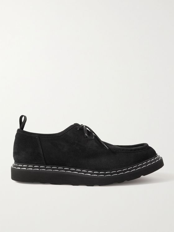 OFFICINE CREATIVE Lyndon Suede Derby Shoes