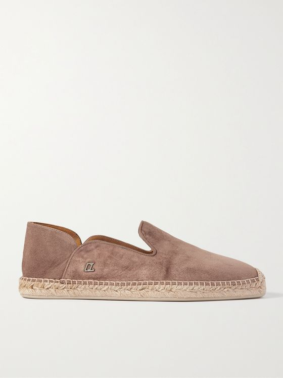 CHRISTIAN LOUBOUTIN Suede Espadrilles